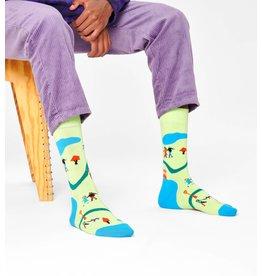Happy Socks VOLWASSENEN sokken met hondenwandeling