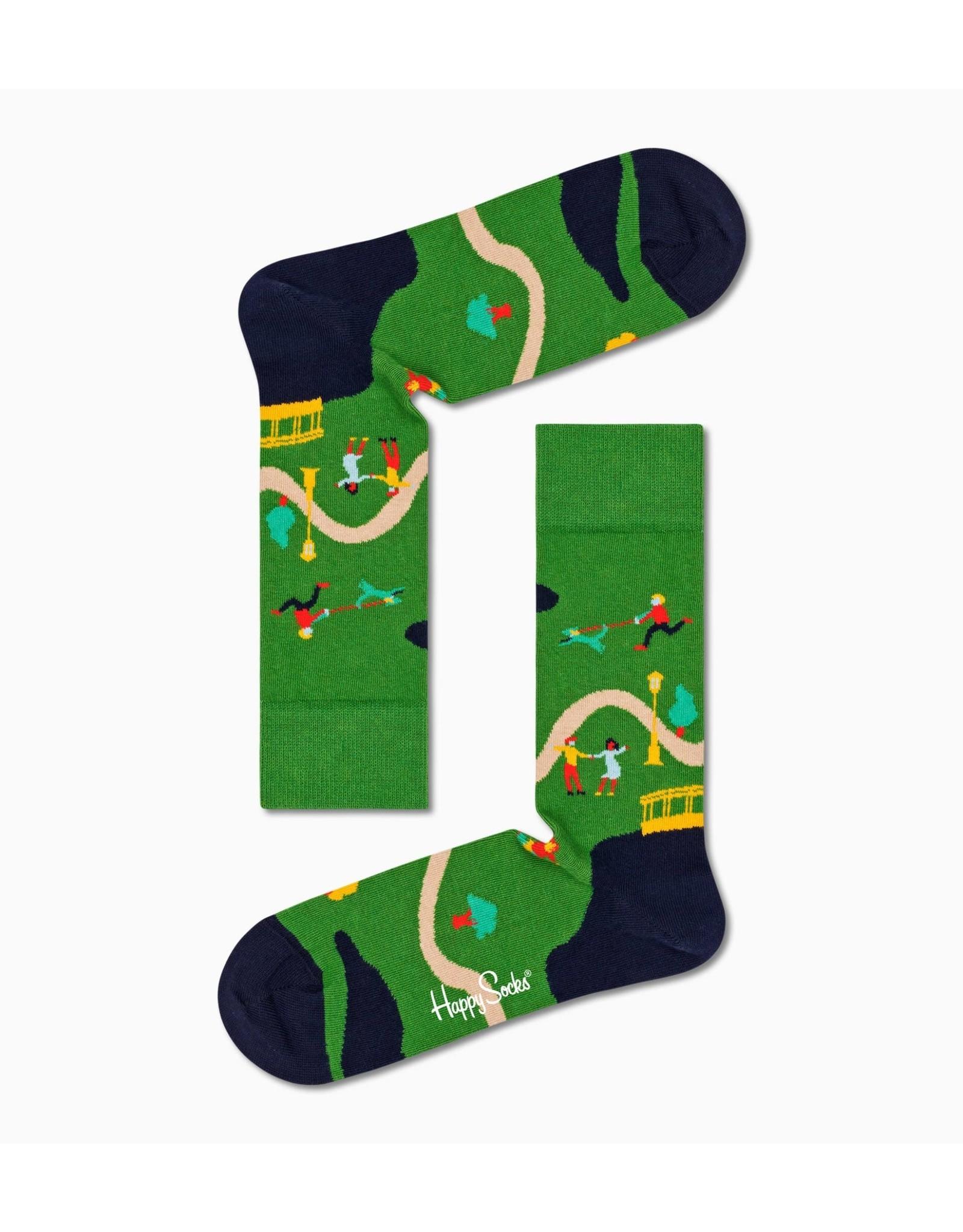 Happy Socks VOLWASSENEN Walk In The Park sokken