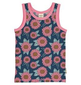 Meyadey Onderlijfje met roze bloemen patroon