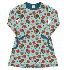 Meyadey A-lijn kleedje met beverprint