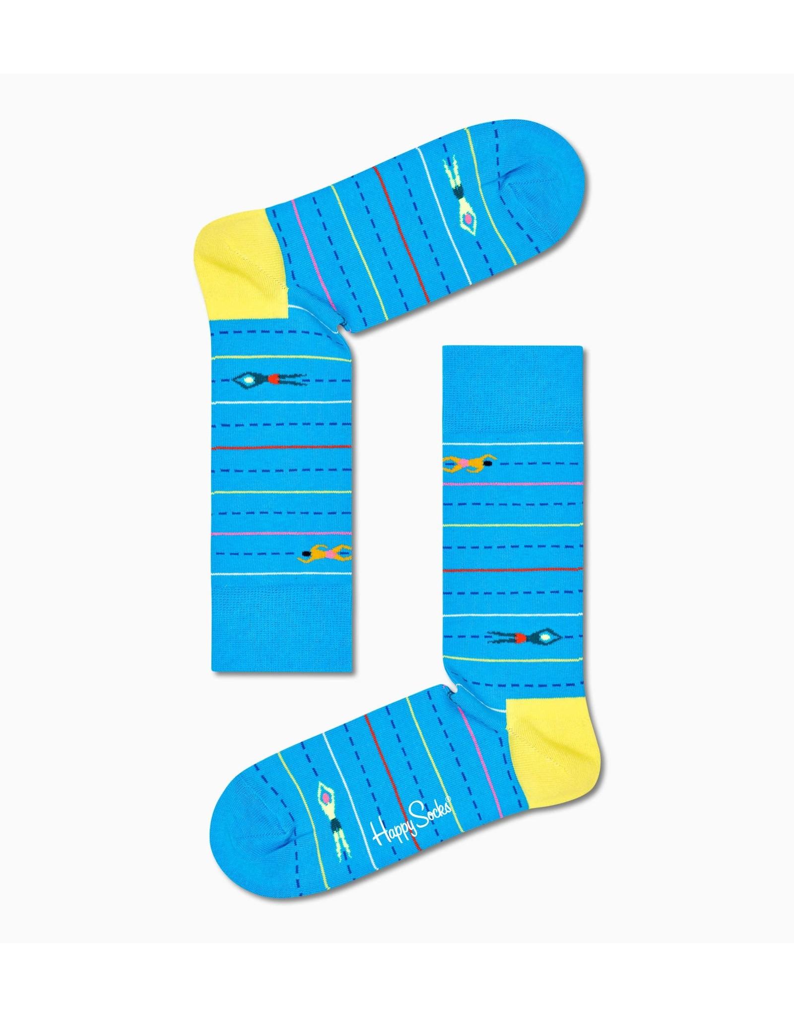 Happy Socks VOLWASSENEN sokken met zwemmers