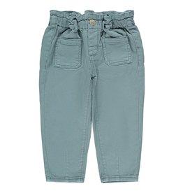 Name It Zacht blauwe mom fit jeans voor de kleine meisjes