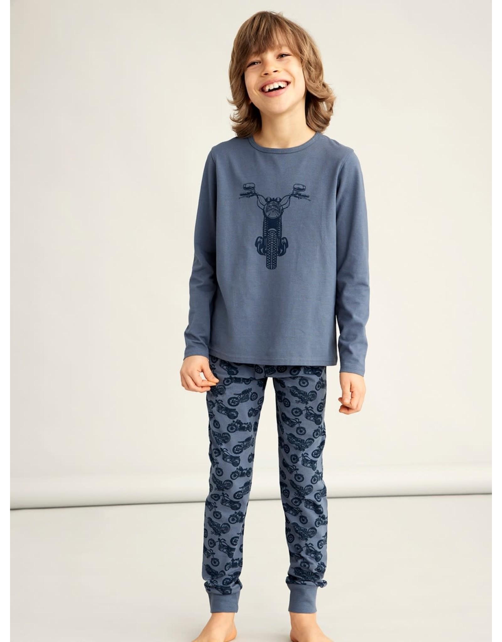 Name It Pyjama met print van moto's