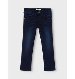 Name It Regular fit donkerblauwe jeans