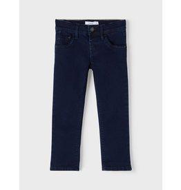 Name It Zachte donkerblauwe meisjes regular jeans
