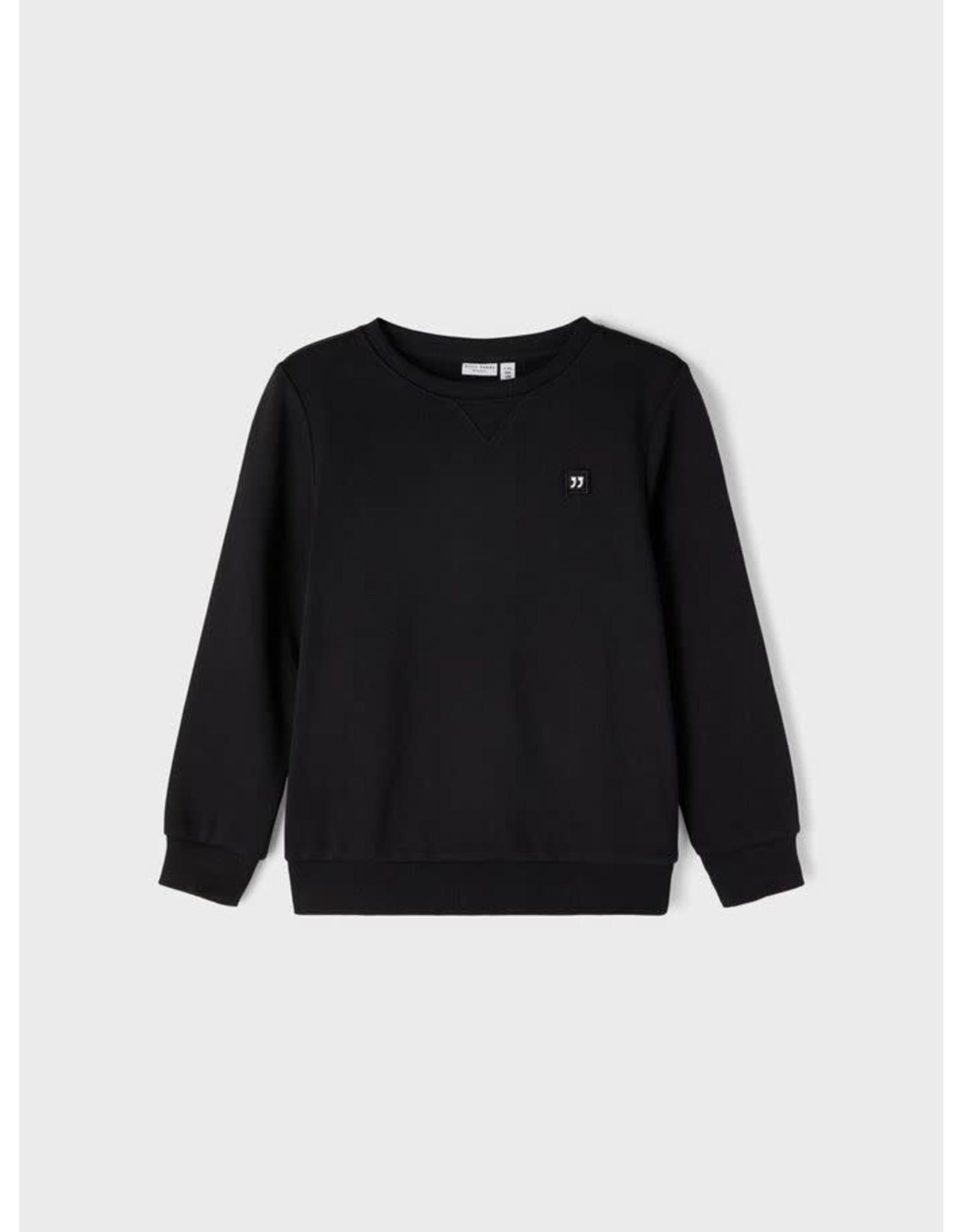 Name It Zwarte jogging trui