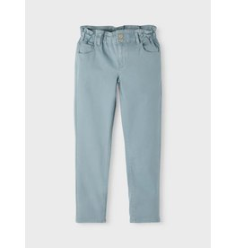 Name It Zacht blauwe high waist baggy fit jeans