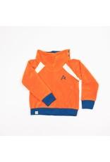 ALBA of Denmark Oranje zachte trui uit velours