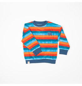 ALBA of Denmark Zachte vrolijke velours trui met strepen