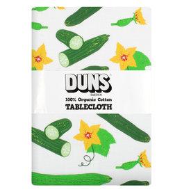 Duns Katoen/Linnen tafelkleed met komkommers - 220 X 140 CM