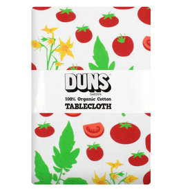 Duns Katoen/linnen tafelkleed met tomaten - 220 X 140 CM