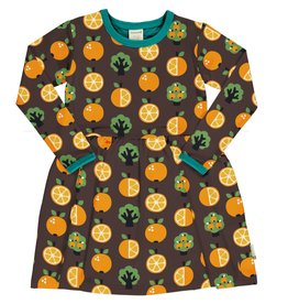 Maxomorra Zwierkleedje met appelsienen print