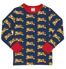 Maxomorra Lange mouwen t-shirt met cheeta print