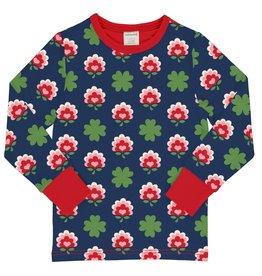 Maxomorra Lange Mouwen t-shirt met klavertjes print