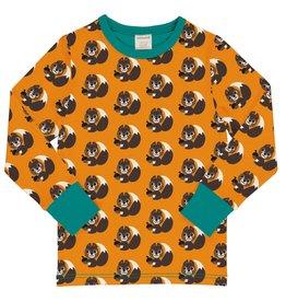 Maxomorra Lange mouwen t-shirt met eekhoorntjes