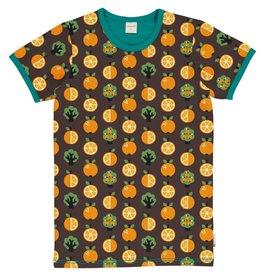 Maxomorra VOLWASSENEN t-shirt met appelsienen print