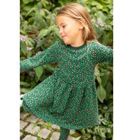 Danefae Groen winterkleedje met bloemenprint
