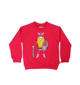 Danefae Fel roze trui met voor en achter viking Freja