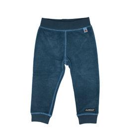 Villervalla Fleece blauwe unisex jogging broek