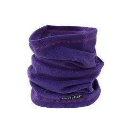 Villervalla Paarse buff sjaal uit fleece