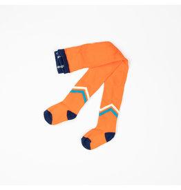 ALBA of Denmark Fel oranje kousenbroek met V-tekening