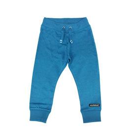 Villervalla Zachte blauwe katoenen jogging broek