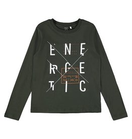 Name It Basic t-shirt jongens met opschrift