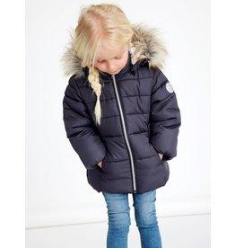 Name It Warme winter glitter jas voor kleine meisjes