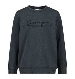 "Name It Donker blauwgrijze sweater trui ""Copenhagen"""