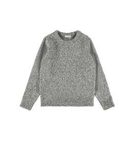 Name It Gebreide grijs gemeleerde trui voor jongens (vanaf maat 116)