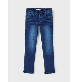 Name It Warme regular jeans met fleece aan de binnenkant