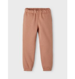 Name It Oud roze warme jogging broek