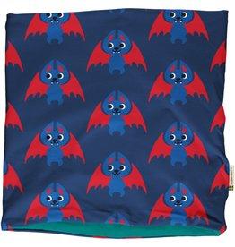 Maxomorra Buff sjaal met vleermuizen (binnenkant velours)