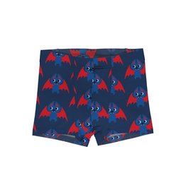 Maxomorra Boxer Shorts met schattige vleermuizen print