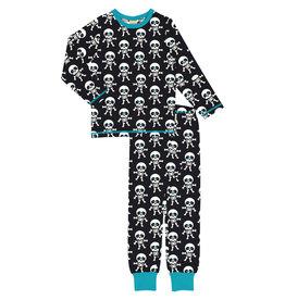 Maxomorra Pyjama met skeletten