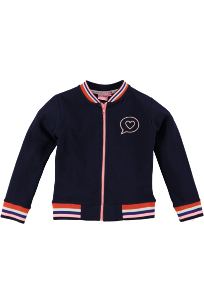 O-Chill Meisjes Vest Lilly Navy