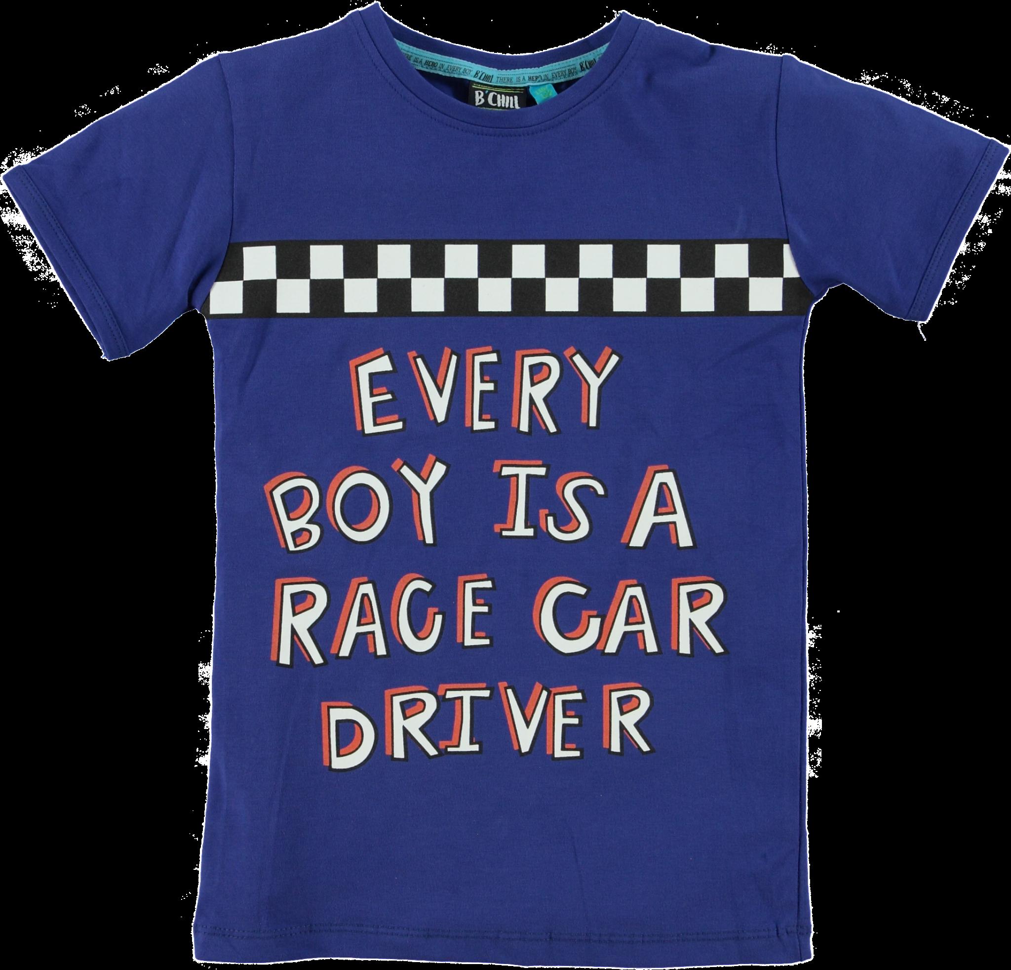 B-Chill Jongens Shirt Quinten Blue-1