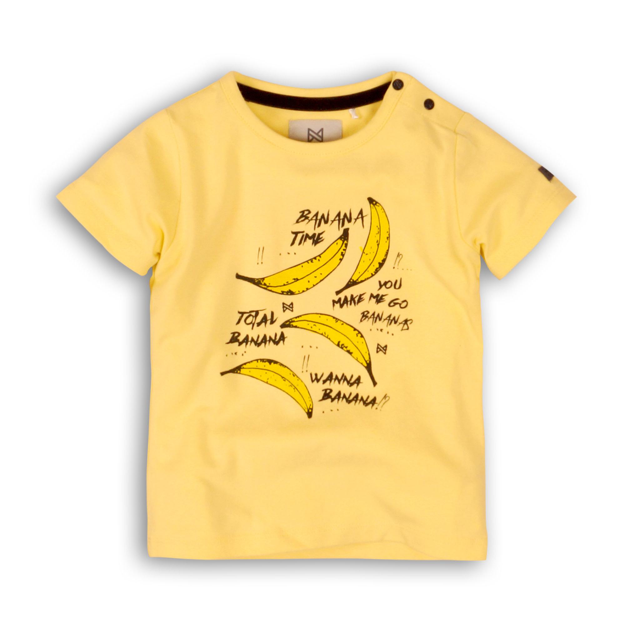 Koko Noko Jongens Shirtje Bananen C34801-1