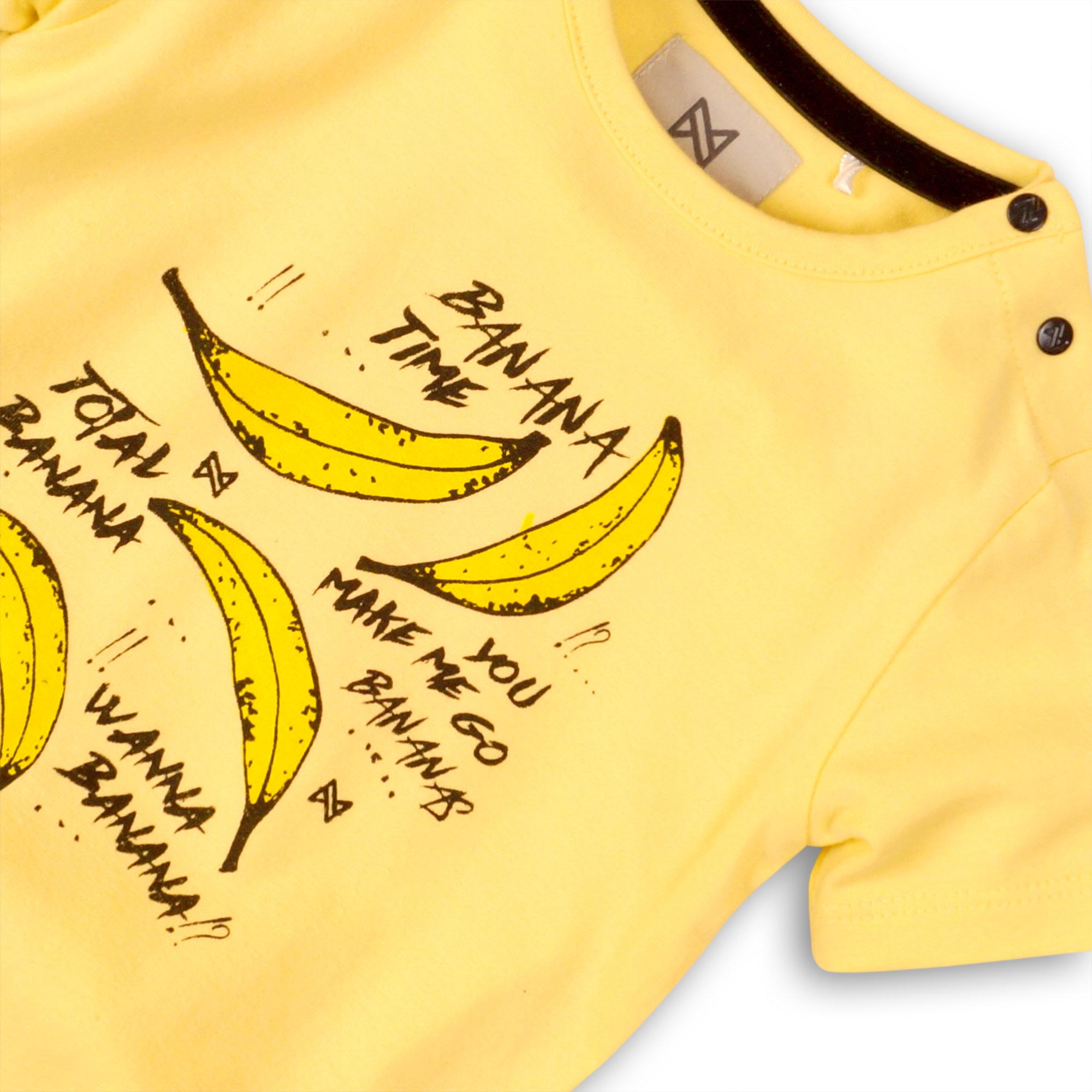Koko Noko Jongens Shirtje Bananen C34801-3