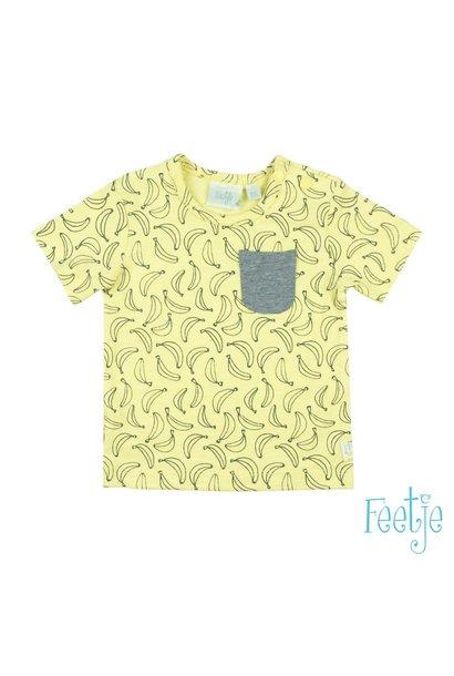 Feetje Jongens Shirtje Go Bananas 51700511