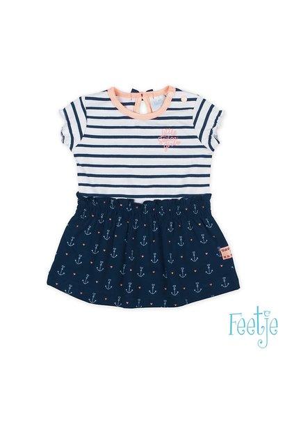 Feetje Meisjes Jurkje Sailor Girl 51400312