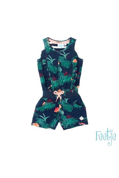Feetje Meisjes Jumpsuit Botanic Blush 51100038