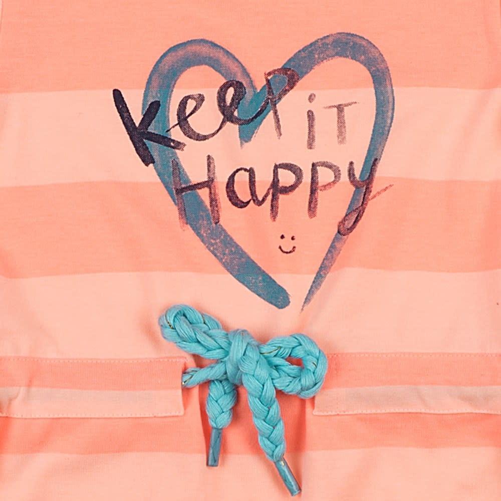 Feetje Meisjes Jurkje Keep It Happy Botanic Blush 51400323-3