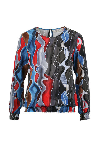 Enjoy Dames Blouson Alloverprint 889984