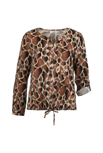 Enjoy Dames Blouson Girafprint 883255