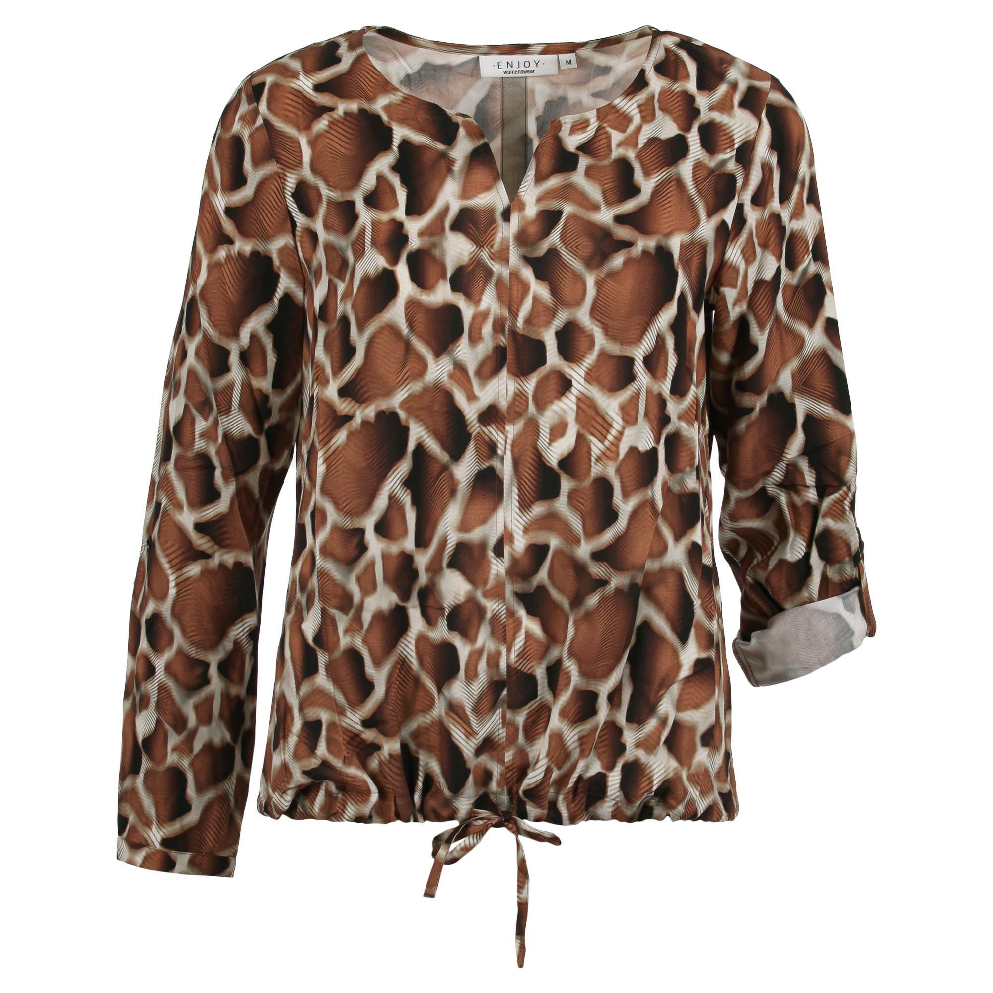 Enjoy Dames Blouson Girafprint 883255-1