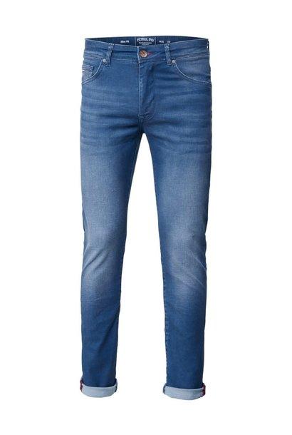Petrol Heren Jeans Seaham M-1000-DNM002
