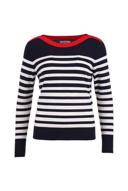 Enjoy Dames Pullover Strepen 420350