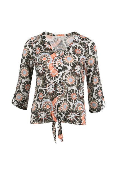 Enjoy Dames Blouson Doorknoop 172393