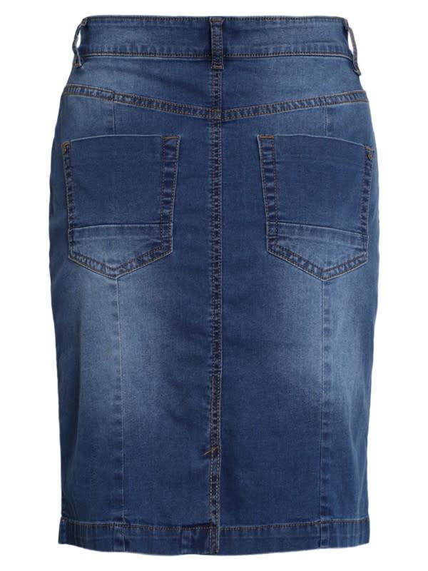 Brandtex Dames Jeans Rok 209479 14197-2